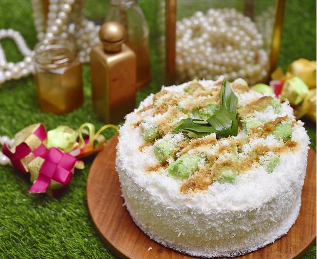 5 Rasa <i>Tart Cake</i> ini 'Nyontek' Jajanan Pasar, dari Cendol Sampai Putu