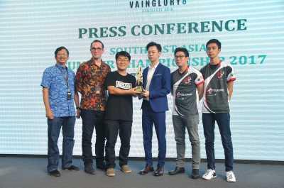 Telkomsel Jadi Tuan Rumah Kejuaran Vainglory Asia Tenggara 2017