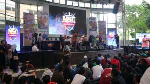 Banyak games seru dan menarik selama acara berlangsung / © Aris Wahyudi/uzone.id