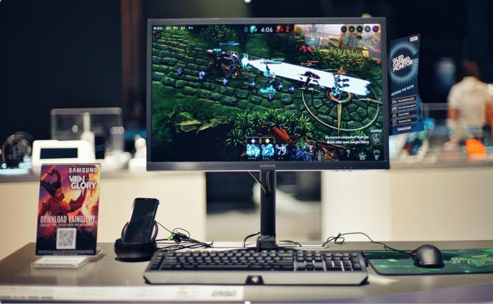 Game Mobile Vainglory Bisa Dimainkan dengan Mouse dan Keyboard