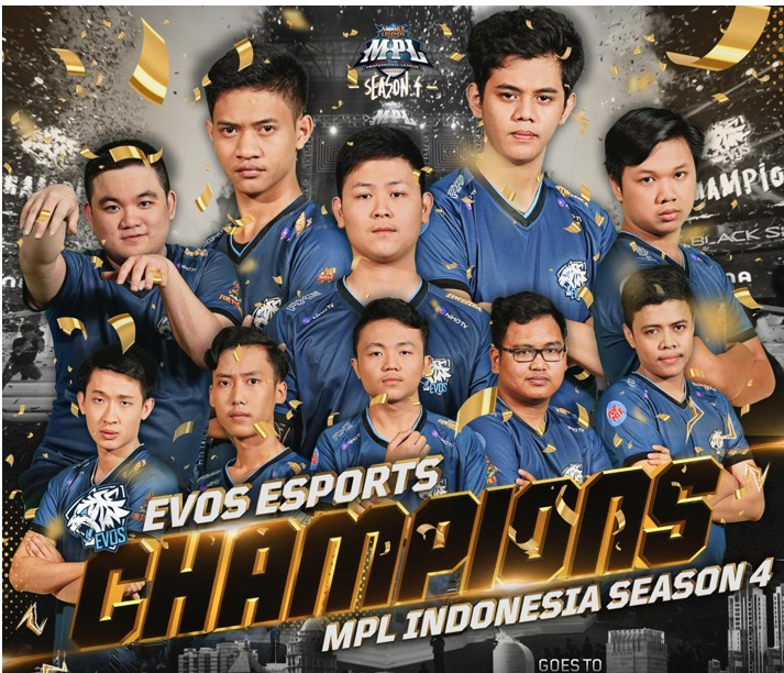 EVOS Juarai Mobile Legends Premier League Indonesia Season 4