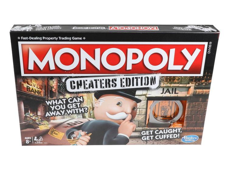Hasbro Bikin Monopoli untuk yang Hobi Curang