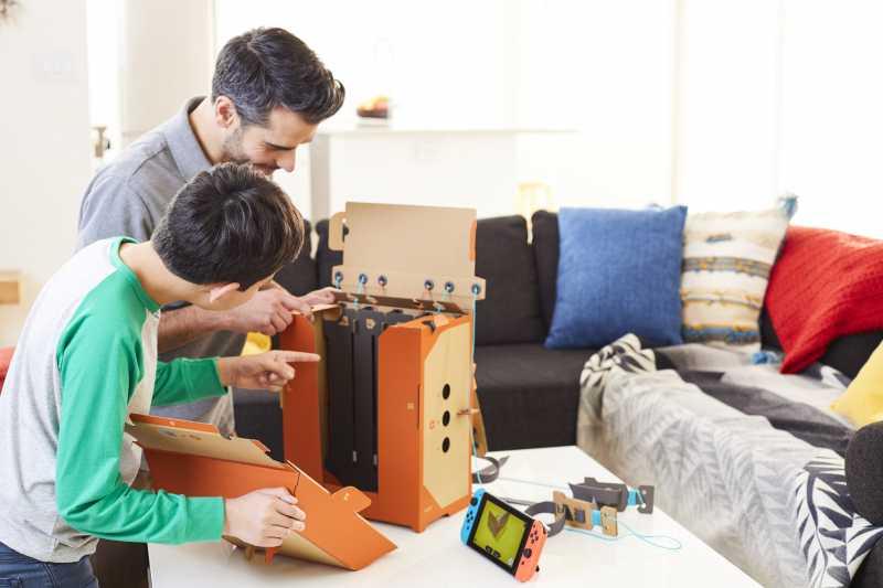 Aksesoris Switch dari Kardus, Nintendo Labo jadi Pembicaraan