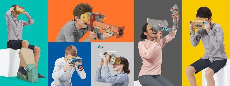 Main Nintendo Switch Bisa Pakai Headset VR, <i>Lho</i>