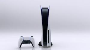 PS5 hadir dengan bentuk berdiri secara vertikal. Ya, kami tahu, mirip dengan konsol game Xbox besutan Microsoft.