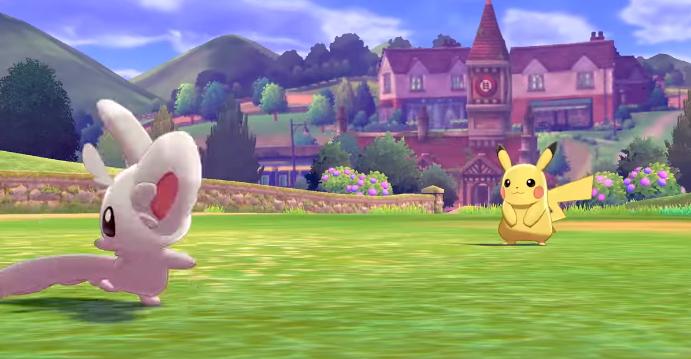 Game Pokemon Sword dan Shield Akan Hadir di Nintendo Switch
