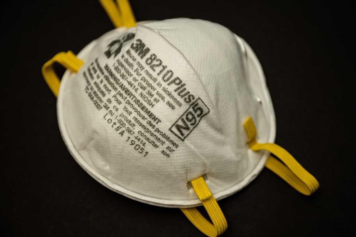 Masker N95 Bisa Picu Serangan Jantung Bagi Pengendara Motor