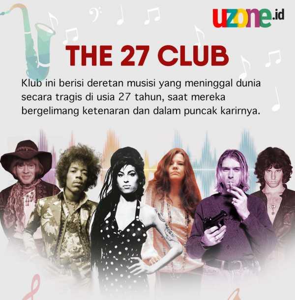 The 27 Club, Kumpulan Pesohor yang Mati Muda