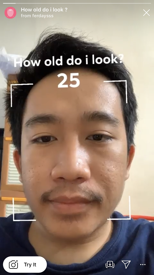 Ramai Filter How Old Do I Look Di Instagram Ini Cara Pakainya