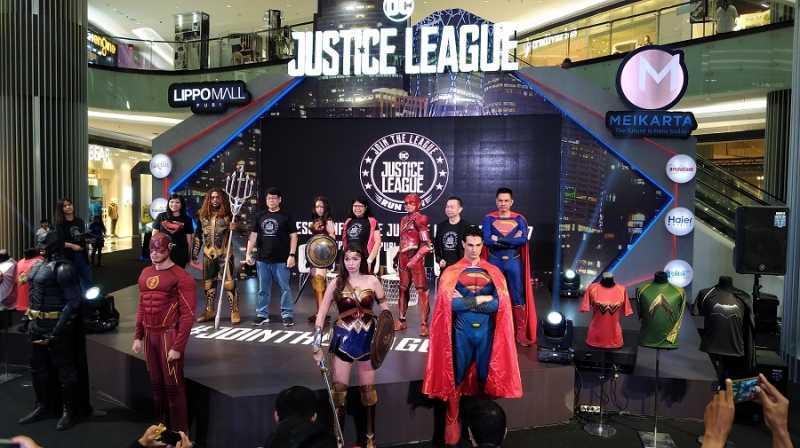 Justice League Run Hadir di Jakarta