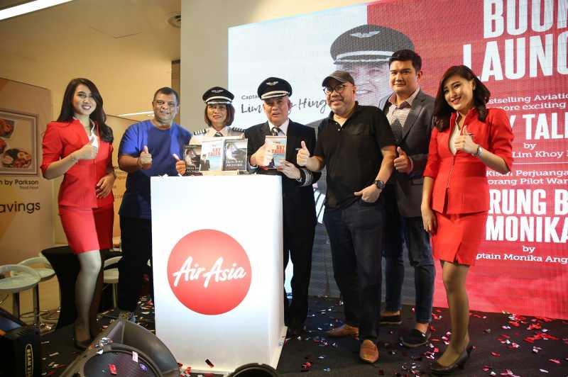 Buku Karya 2 Pilot AirAsia Resmi Diluncurkan