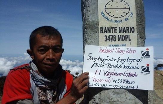 Ronny Hartono, Jalan Kaki Sambil Panggul Sepeda Ontel dari Kendal ke Jakarta