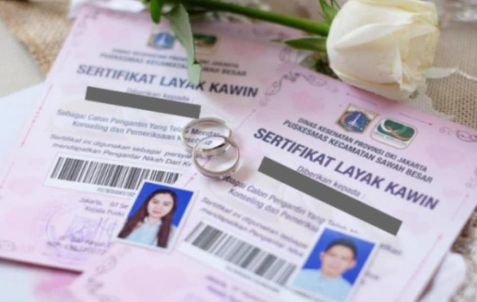 Viral Surat Nikah (Sertifikat Layak Kawin) Akan Berlaku 2020