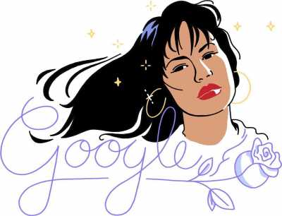 Google Doodle Hari Ini Selena Quintanilla