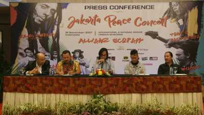 'Jakarta Peace Concert' Siap Digelar November