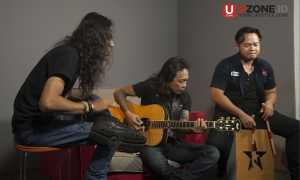 Jikunsprain membawakan dua single 'gelap tak berujung' dan 'malaikat hitam' / © Ary Setiyawan