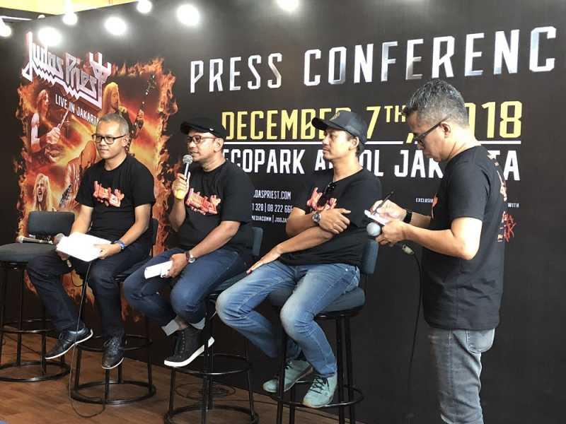 Judas Priest Konser Perdana di Indonesia, Harga Normal Tiket Hanya Rp 650.000