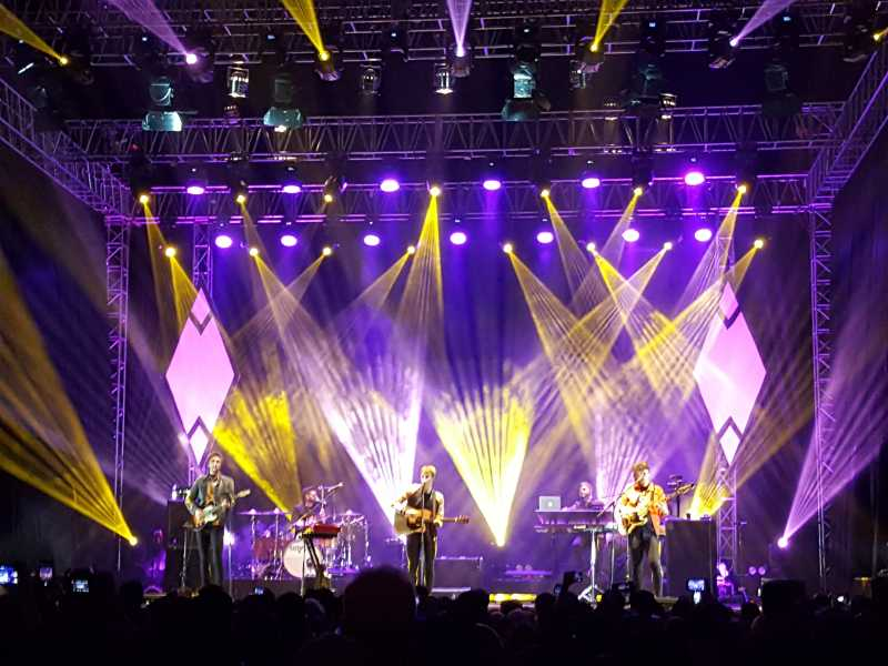 Seberapa Greget Konser Kodaline di Jakarta Tadi Malam?