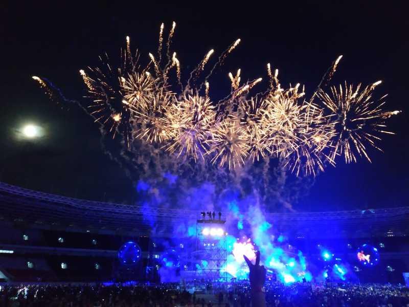Konser HUT 35 Tahun Berkarya dan Slank Belum juga Mati..