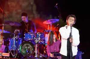 Pamungkas tampil di Prambanan Jazz Virtual Festival 2020. (Foto: Instagram @prambananjazz)