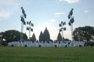 Prambanan Jazz Virtual Festival 2020 digelar di Komplek Candi Prambanan, Sleman, Yogyakarta.