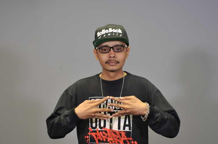 Rapper SinniKal oNe Bicara Album Baru dan Kecintaannya Pada Rima