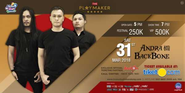 Siap-siap, Andra and The Backbone Bakal Konser di Bandung