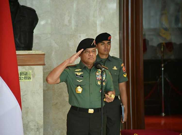 Panglima TNI Dilarang Masuk Amerika