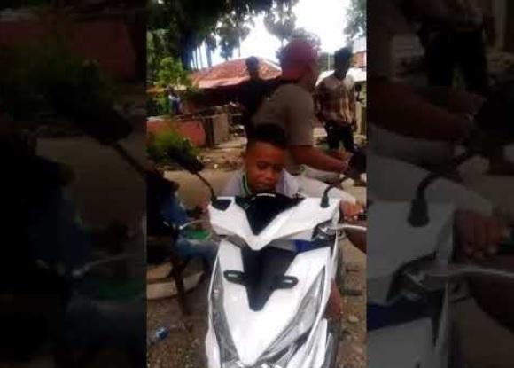 bocah peniru komentator motogp makin terkenal