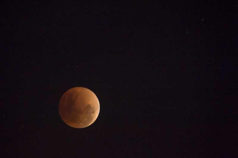 FOTO: Indahnya Bulan Purnama Tadi Malam