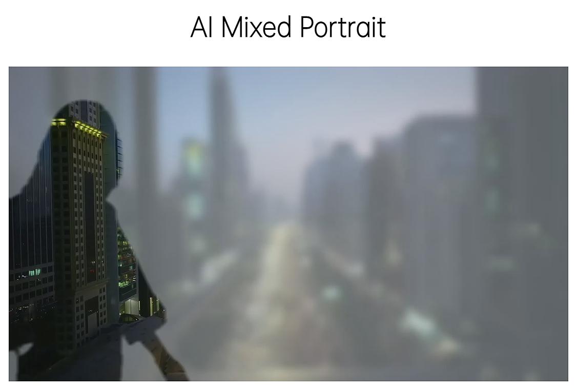 AI Mixed Portrait