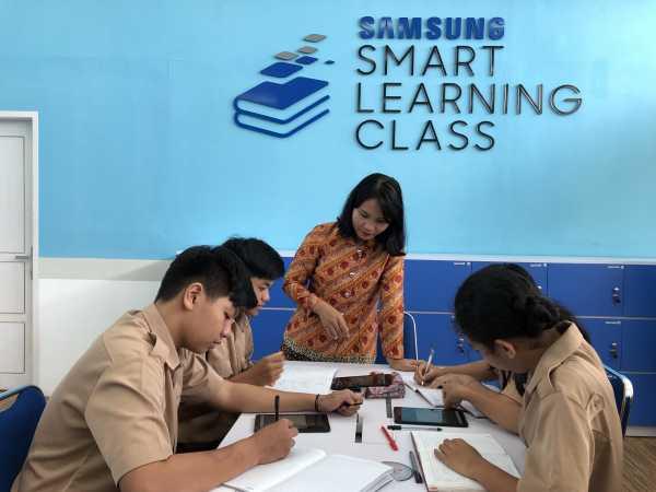 Asyik, Ruang Kelas SMA di Bangka Belitung 'Disulap' Jadi Serba Digital