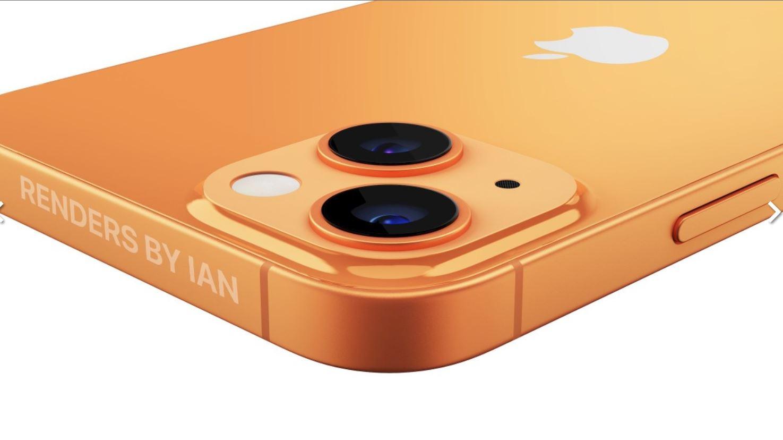 iphone 13 oranye