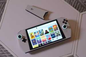 Dell Alienware UFO, begitu nama PC Gaming Portabel yang diperkenalkan. (Foto: Arstechica)