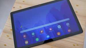 Galaxy Tab A7 ini bisa dibilang tablet terbaru dari Samsung yang hargaya masih terjangkau. Layarnya 104 inci IPS LCD.
