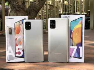 Selain warna baru, kedua smartphone ini juga dilengkapi dengan fitur anyar, yaitu Pro Mode, Single Take, Music Share, dan Quick Share. (Foto: Birgitta Ajeng/Uzone.id)