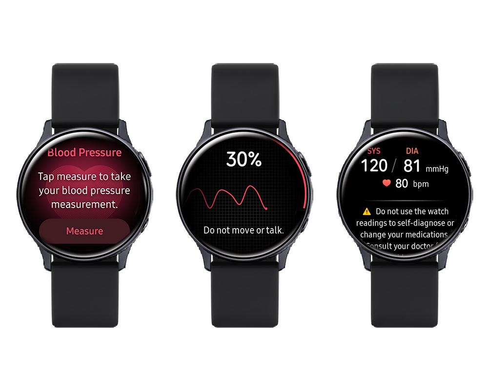 Galaxy Watch Active2 - Samsung Health Monitor & Blood Pressure