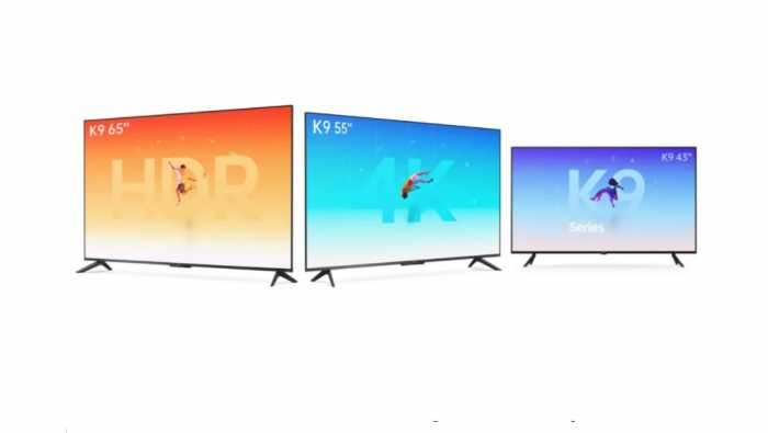 Oppo Luncurkan Smart TV K9 Series Ukuran 43, 55, dan 65 Inci