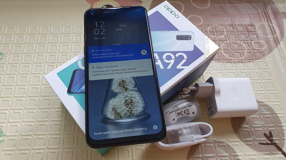 Review Oppo A92, Baterai 5000 mAh Bisa Rekam Video 4K