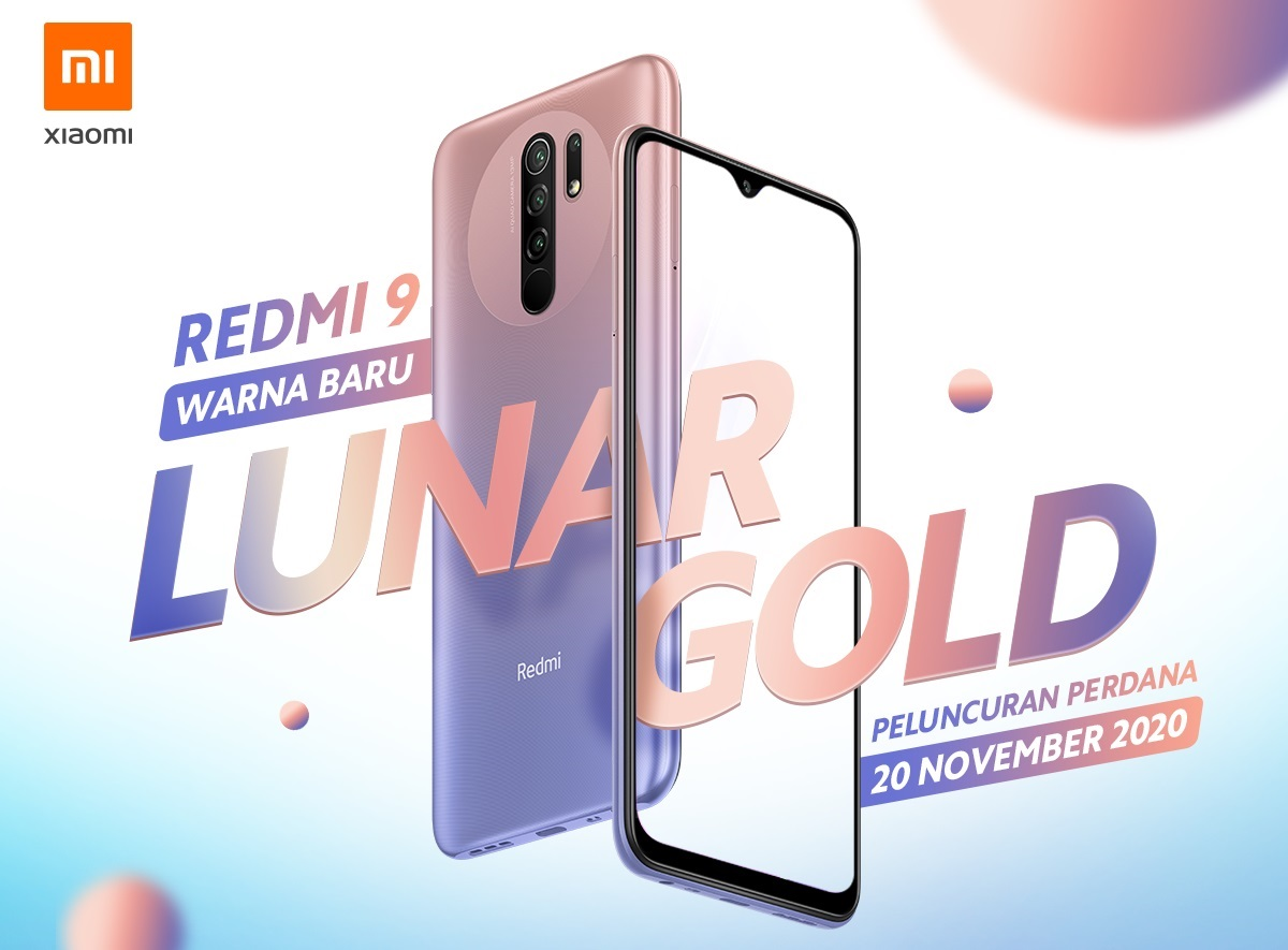 Redmi9-Gold