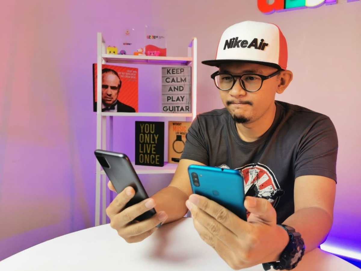 Adu Samsung Galaxy M11 vs Realme C11, Bagus Mana?