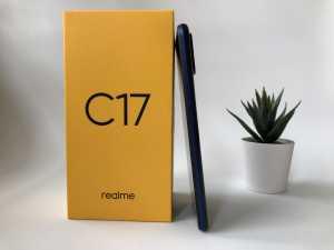 Realme C17 mengusung bodi berbobot 188 gram dan ketebalan 8,55 mm. Realme C17. (Foto: Uzone.id/Birgitta Ajeng)