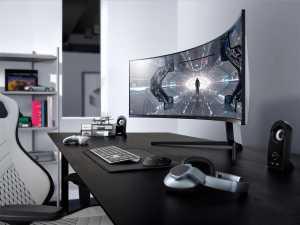 Samsung Odyssey G9 hadir dengan Samsung QLED menciptakan warna yang lebih jelas dengan jangkauan sRGB hingga 125 persen. (Foto: Dok. Samsung)