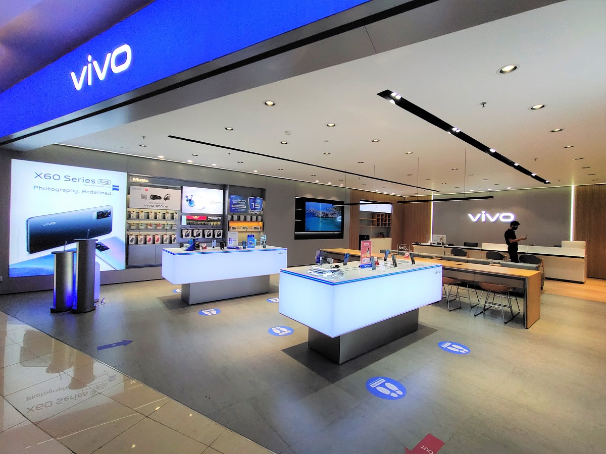 01 - vivo Experience and Service Store di Central Park, Jakarta Barat