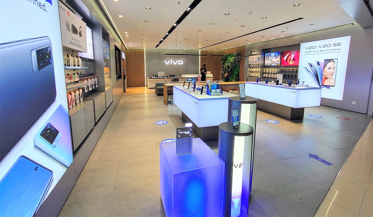 03 - vivo Experience and Service Store di Central Park, Jakarta Barat