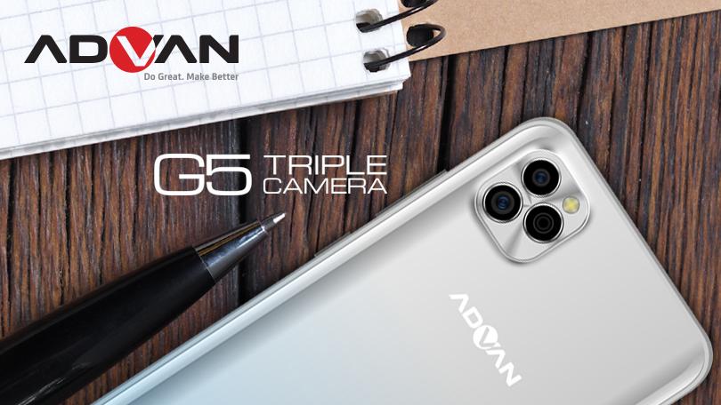 Advan G5 Triple Camera Rp1,4 Juta, Bisa Motret Dalam Gelap