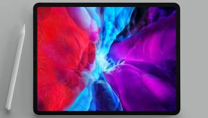 iPad Pro ini terbilang tipis. Ukuran ketebalannya 5,99 mm saja. (dok. Apple)