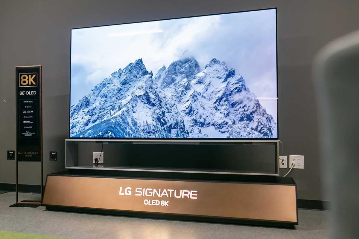 LG Rilis TV OLED Terbesar di Dunia, Layar 88 Inch