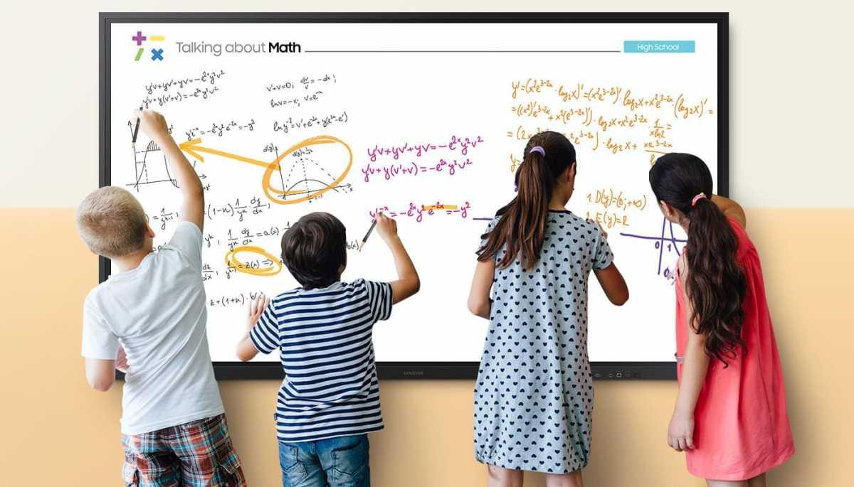 'Papan Tulis' Digital Samsung 85 Inci Ini Akan Dipakai Pelajar Selama Pandemi