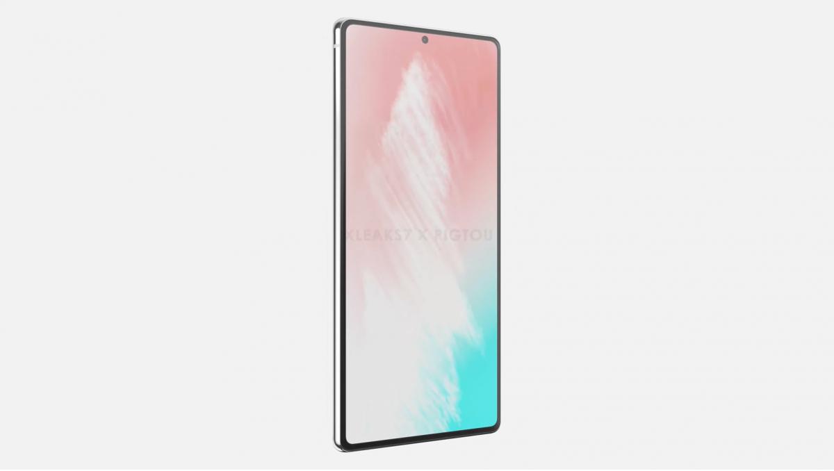 Inikah Penampakan Samsung Galaxy Note 20?